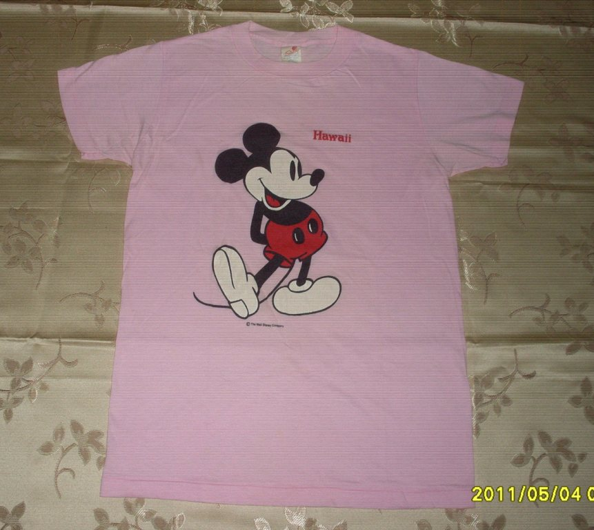 Vintage Mickey Mouse Hawaii 50/50