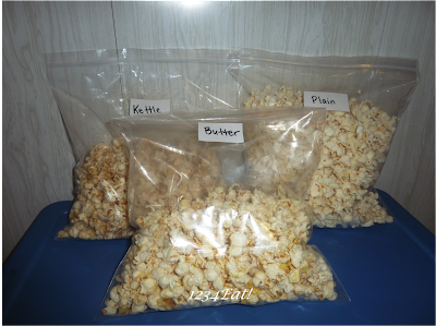 Plain Popcorn Bags Plain Popcorn And Butter