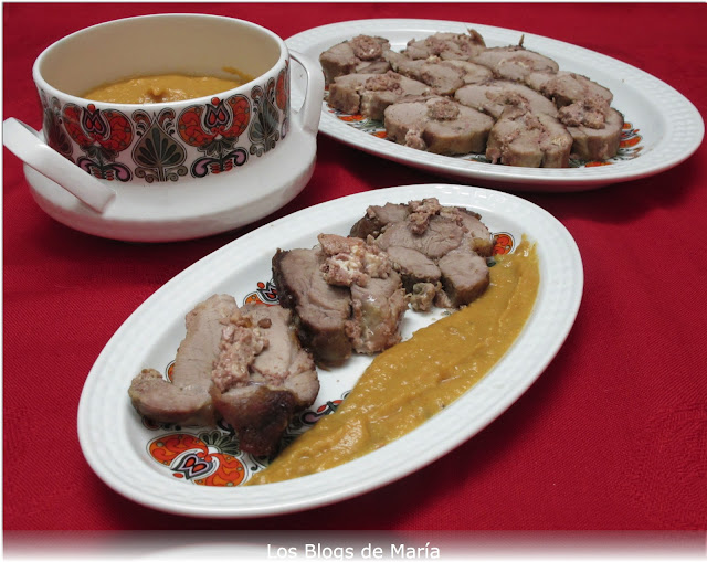 Solomillo relleno de foie gras de oca