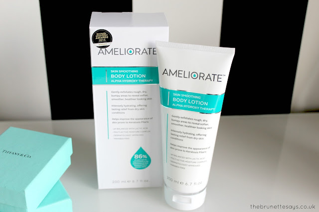 ameliorate, keratosis pilaris, KP, chicken skin, body lotion
