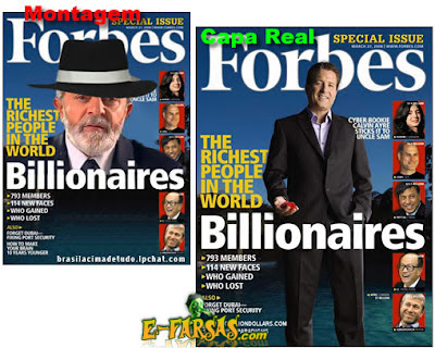 Forbes: Fortuna pessoal de Lula é estimada em 2 bilhões de dólares - Um Asno