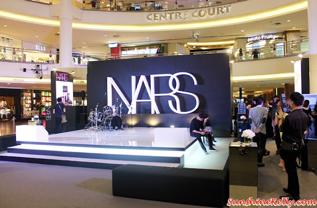 NARS Mid Valley Celebration Party, NARS Malaysia, NARS Mid Valley, NARS Private Screening Fall 2015 Color Collection, NARS Fall 2015, NARS AW15, NARS Event Setup, NARS stage, NARS Party