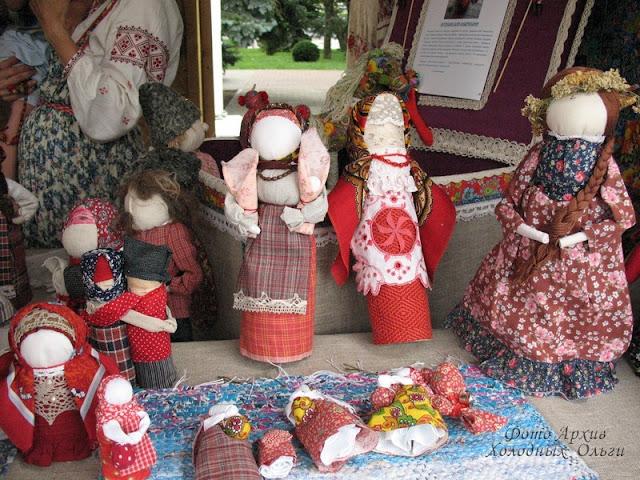 Тряпичные куклы 16