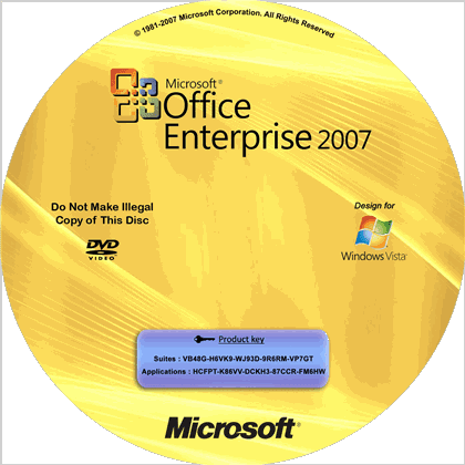 2007 office key