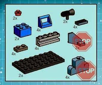 Composición realizada por Emiliano M. de Dios usando el libreto de instrucciones de LEGO® del set 4483 AT-AT