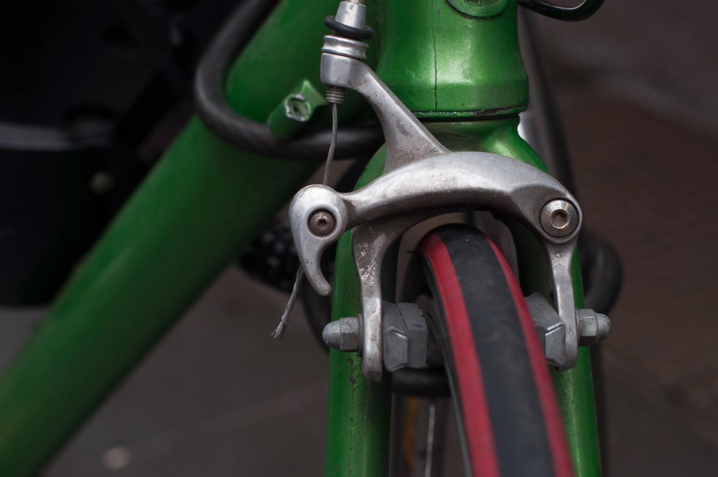 single speed, bike, bicycle, tim macauley, the biketorialist, melbourne, conversion, chain, tensioner road bik, front, brake