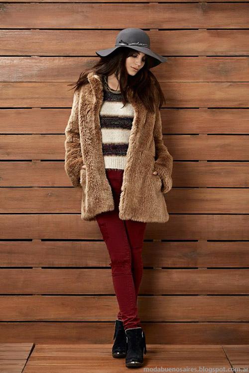 Tapados de piel Kevingston Mujer otoño invierno 2015. Moda otoño invierno 2015.