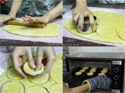 Cách làm bánh trứng KFC - Bánh Egg Tart 6