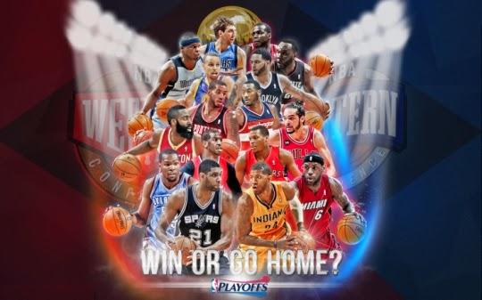 Banner de la entrada Comienzan los playoffs 2014 en la NBA