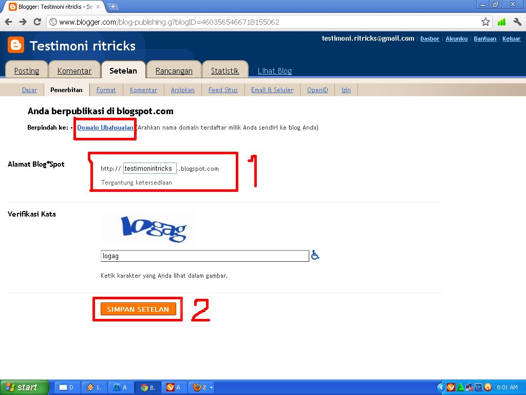 how to change myshopify.com domain