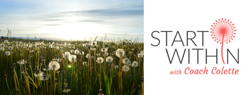 Start Within with Coach Colette Ellis