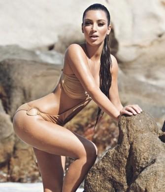 FOTO Asoy Geboynya Tubuh Seksi Kim Kardashian
