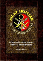 Silat Ikhtiar - The South East Asian Martial Art  - BUDGET BLACK/WHITE VERSION