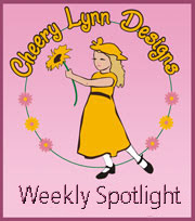I made the weekly spotlight at Cheery Lynn Designs!