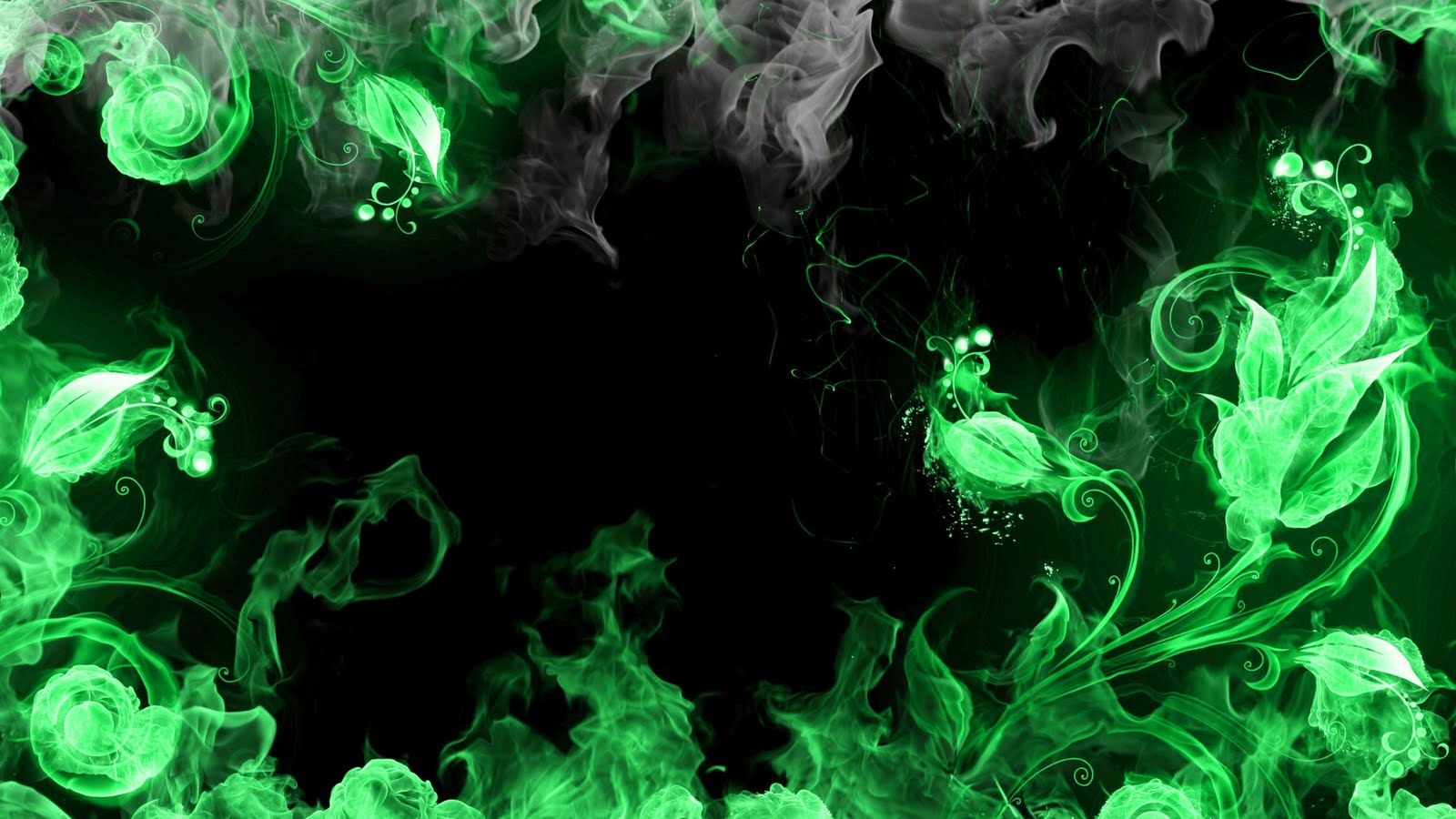 green fire wallpaper - photo #7