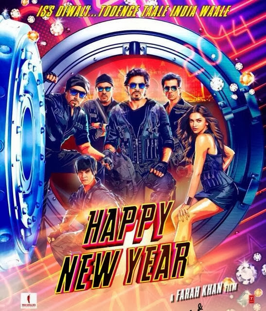 SRK's Upcoming Happy New Year First Look Poster