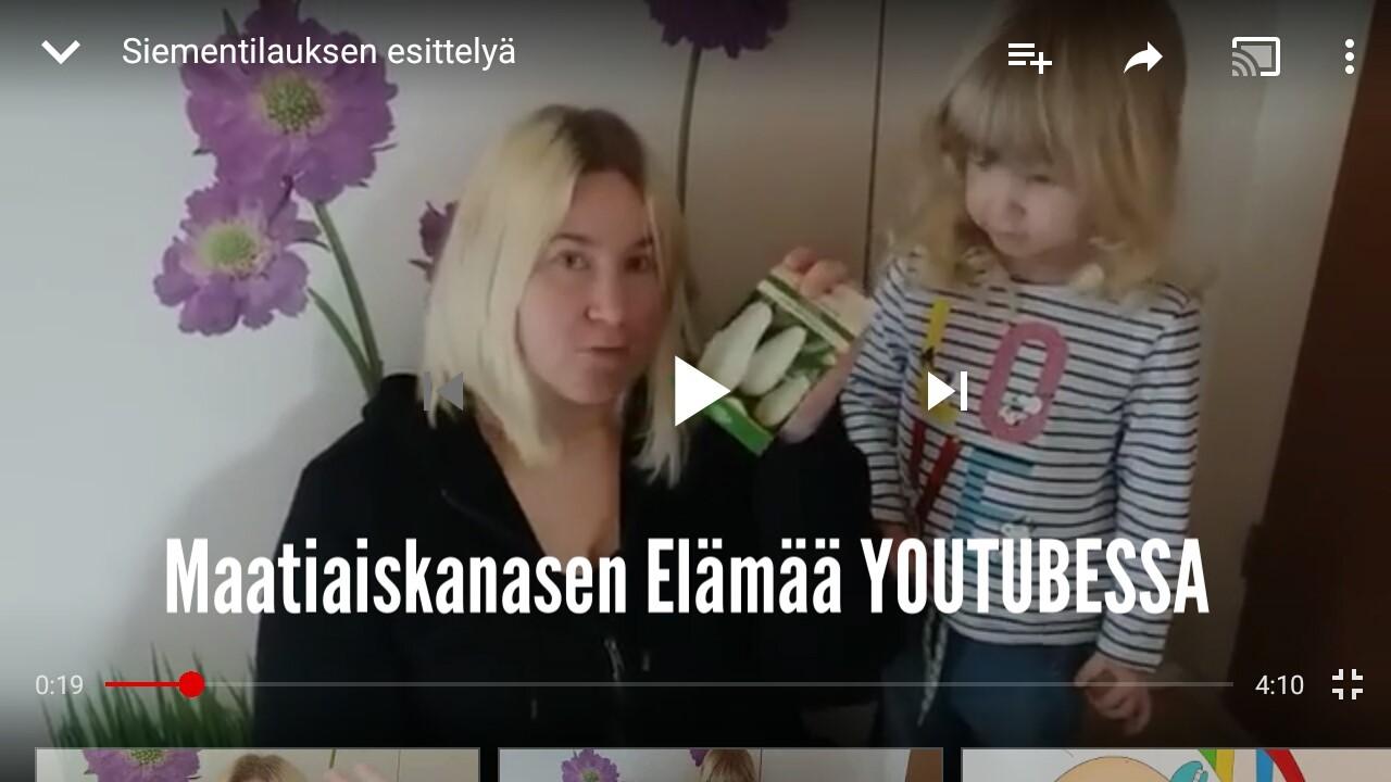 Maatiaiskanasen Elämää Youtubessa