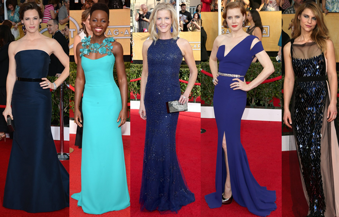 sag awards, 2014, jennifer garner, amy adams, claire danes