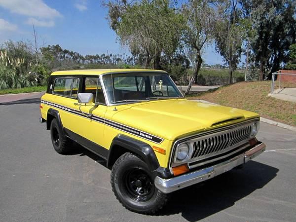 1977 Jeep Cherokee Chief 4x4