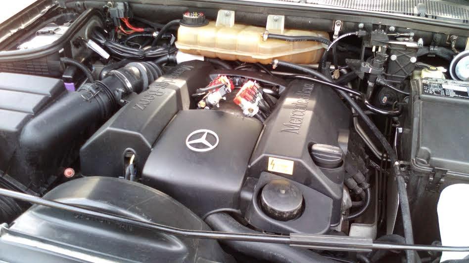 Transformación a GLP de un Mercedes ML ( Se Vende)