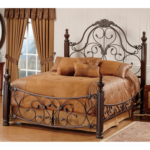 Brass Metal Bed Frame