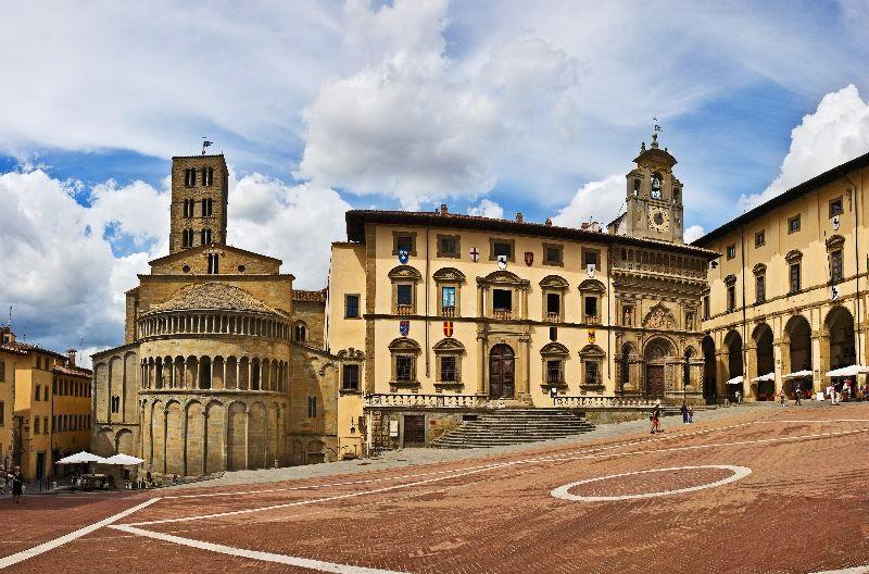 Итальянский город Ареццо