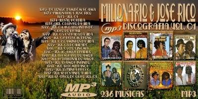 Discografia Milionário & José Rico Vol.1 2015
