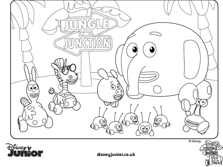Free coloring pages of tinga tinga for Tinga tinga coloring pages