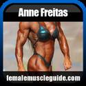 Anne Freitas IFBB Pro Female Bodybuilder Thumbnail Image 1