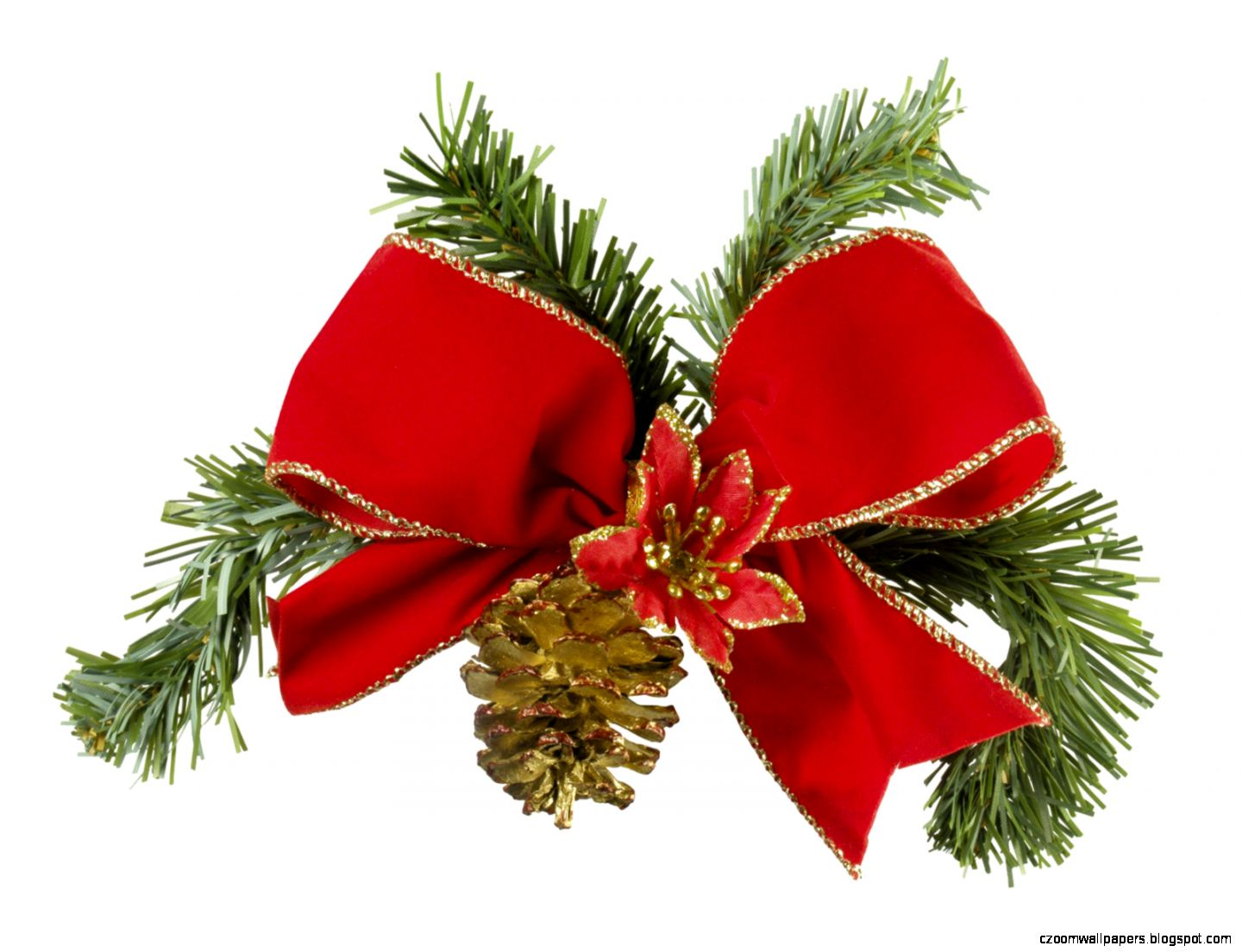 Free Images of Christmas Ribbon