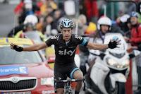 Richie Porte da un golpe de autoridad en la etapa reina