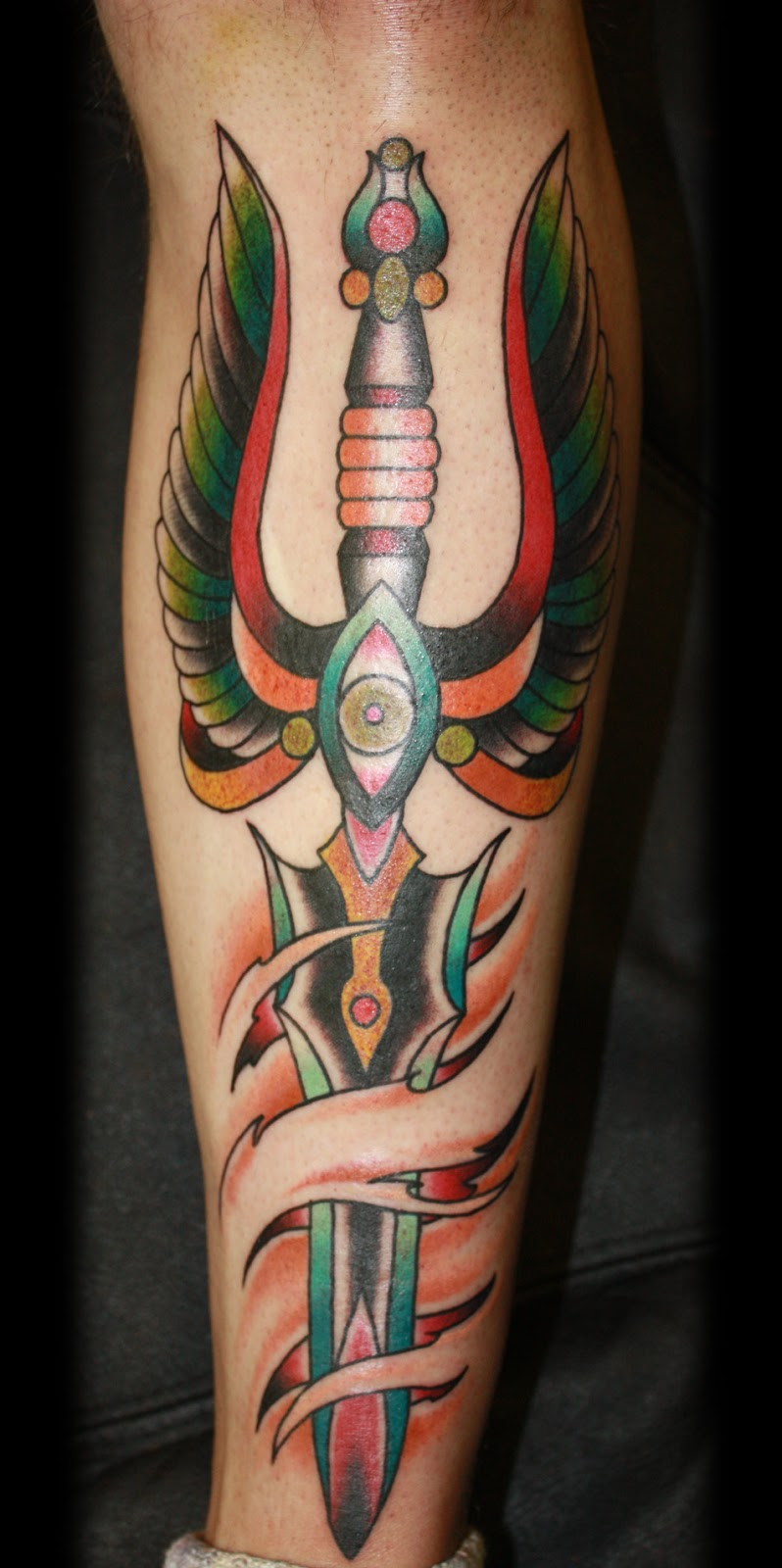 Dagger tattoos for 3 tattoo meaning