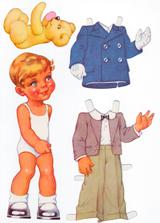 Muñecos para recortar