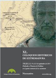 COLOQUIOS HISTÓRICOS DE EXTREMADURA