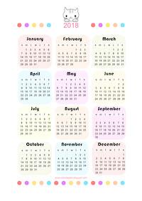Free calendar engl. + deutsch: