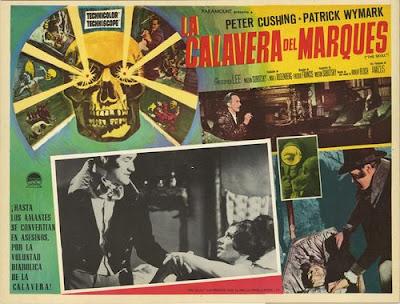 The Skull / La calavera del MArqués (1965)