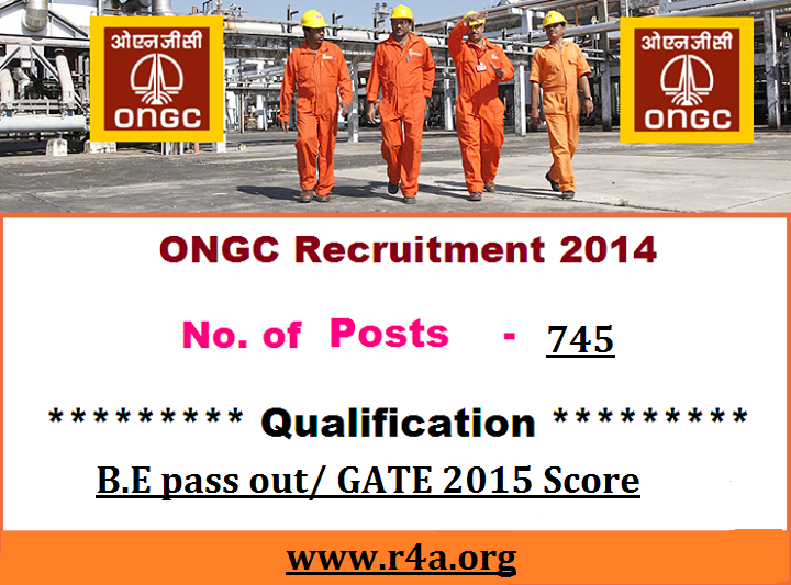 Graduate Trainee ONGC Recruitment