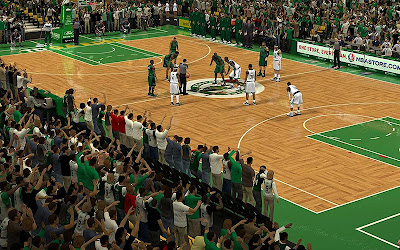 NBA 2K13 Boston Celtics Crowd Fix