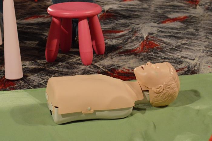 targi, targi z pomopnem, kurs pierwszej pomocy