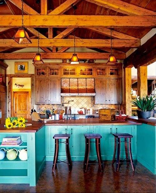 cat rumah minimalis dalam kombinasi warna biru gambar