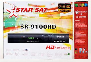 Atualizacao do receptor Starsat SR-9100 HD V34.45