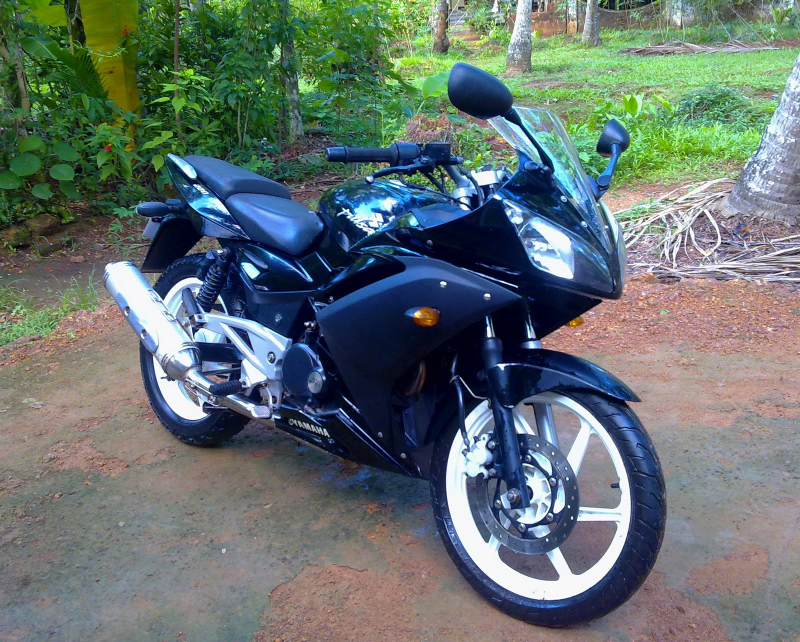 2008 Model Pulsar 200 modified to r15  My modified Pulsar 200