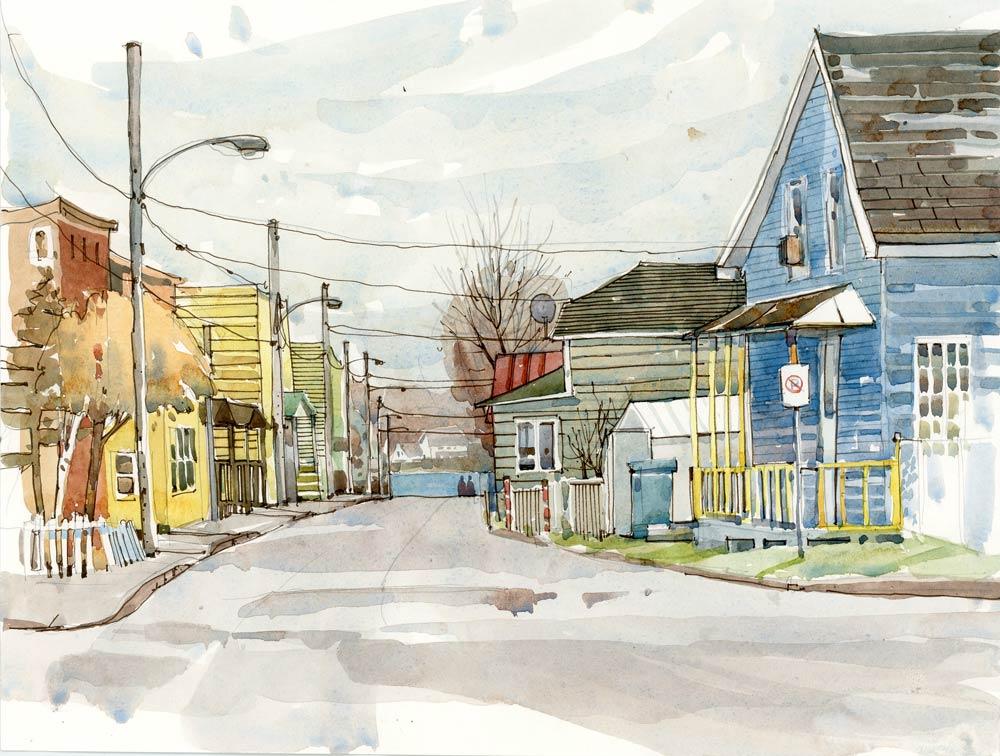 Small Town Urban Sketchers