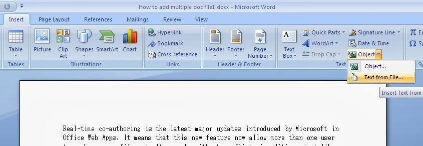 merge multiple word documents into pdf