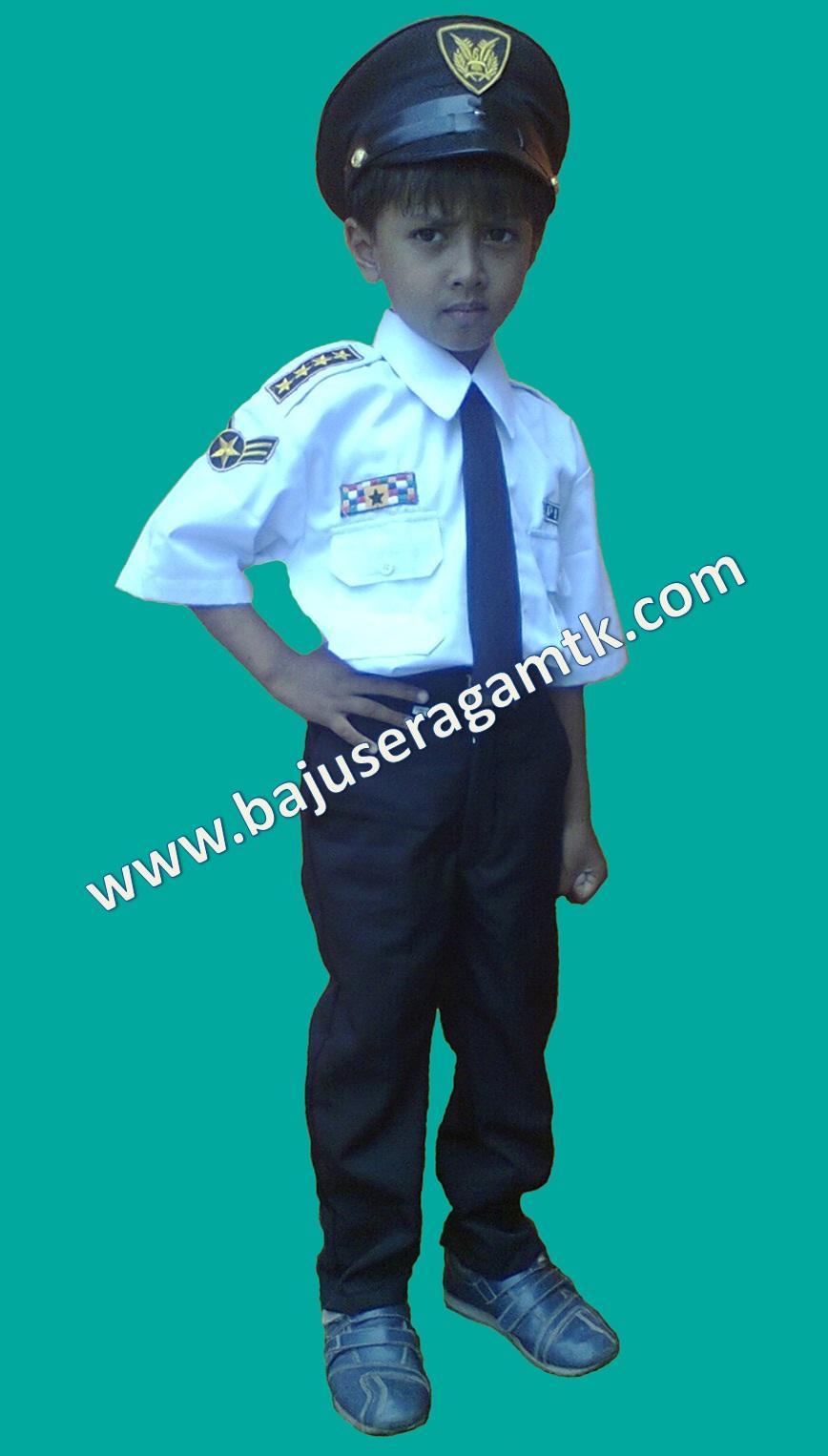 baju profesi anak baju pilot anak baju kostum profesi pilot anak