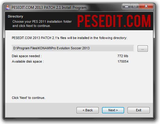 Cara Install PESEdit.com 2013 Patch | PES Hybrid