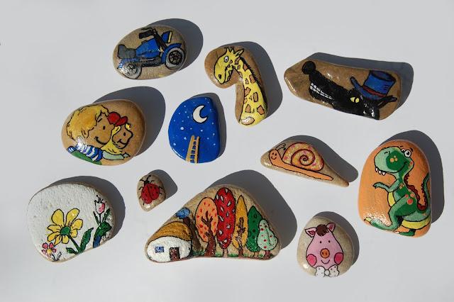 Marpaluna cuentos con piedras - Dibujos de piedras ...