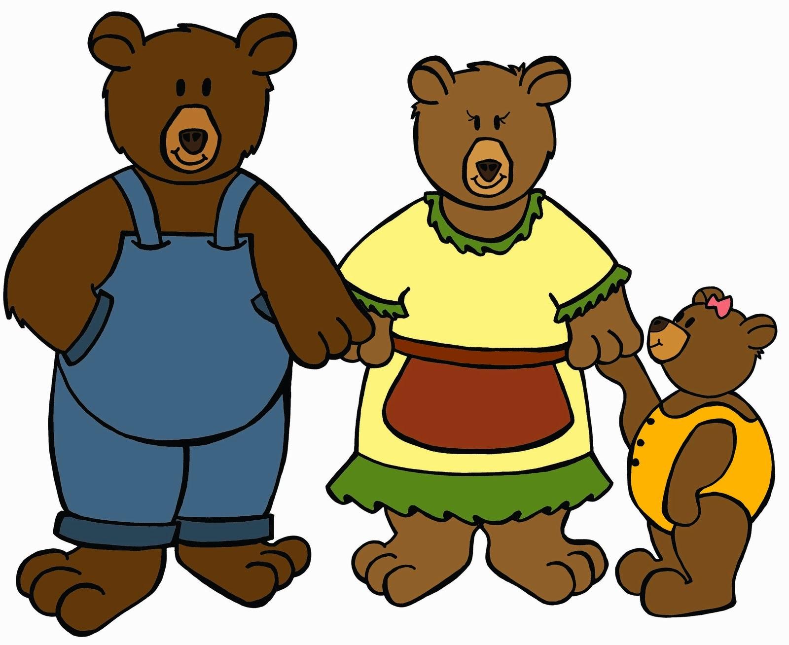 Kisah 3 Ekor Beruang Dan Goldilocks