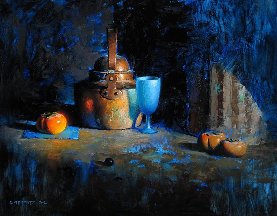 David Andrew Nishita Cheifetz David+Cheifetz+1981+-+American+Still+Life+painter+-+Tutt'Art@+%2838%29