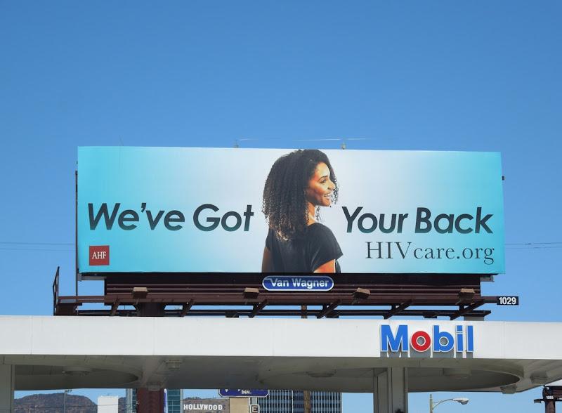 got your back HIV billboard